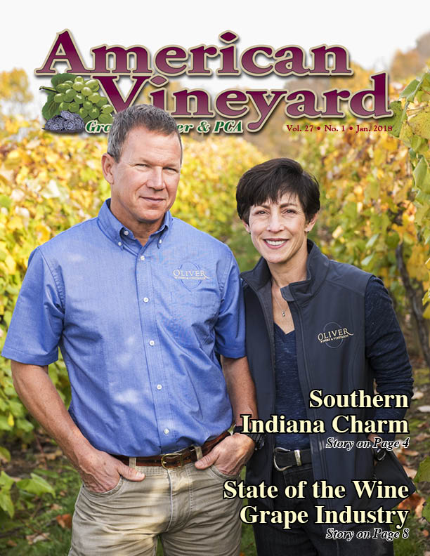 American Vineyard Magazine: January 2018